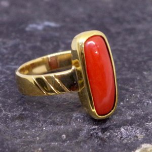 Coral Ring (Munga Ring) From 3.85 carat/ 4.27 Ratti To10.10 carat / 11.22 Ratti