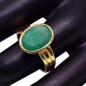 Panna Emerald Ring From 3.85 carat/ 4.27 Ratti To 10.10 carat / 11.22 Ratti