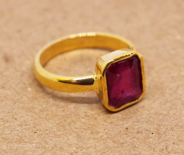 ruby ring or manak ring at affordable price