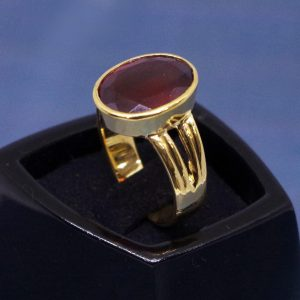 Gomed Ring ( Hessonite Garnet Ring) From 3.85 carat/ 4.27 Ratti To 10.10 carat / 11.22 Ratti