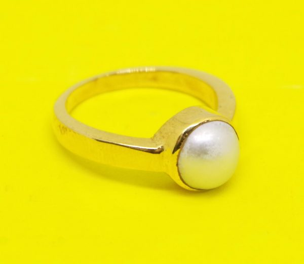 Pearl ring of south sea or moti ring