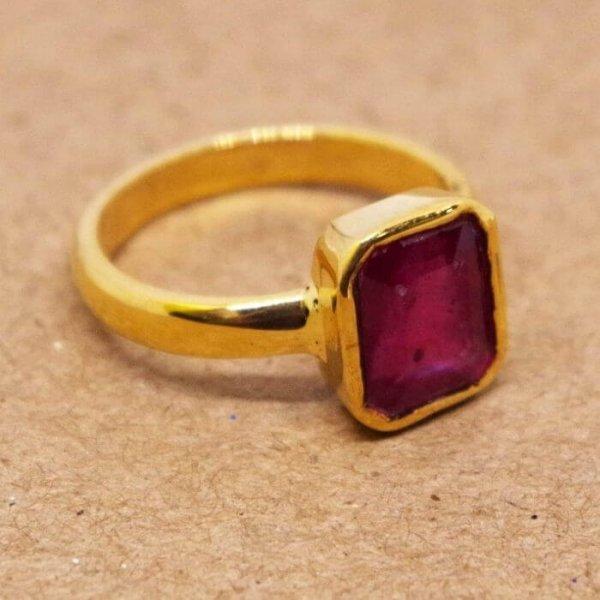 Ruby Ring Or Manak Ring