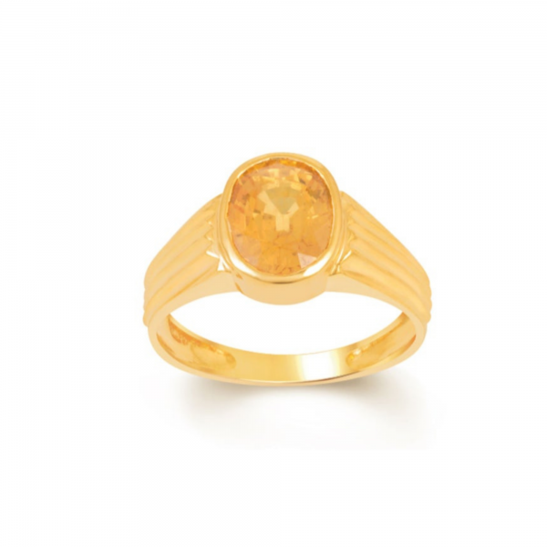 Hight Quality Yellow Sapphire Ring