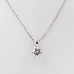VVS1 Certified Moissanite Forever 6.5mm