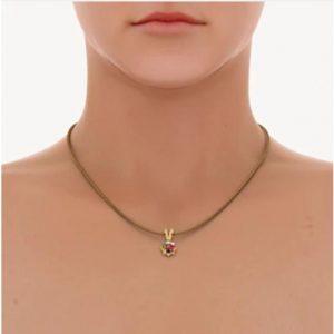Natural Certified Navratan Pendant