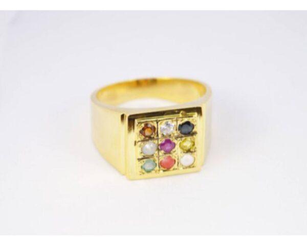 navratan gemstone ring