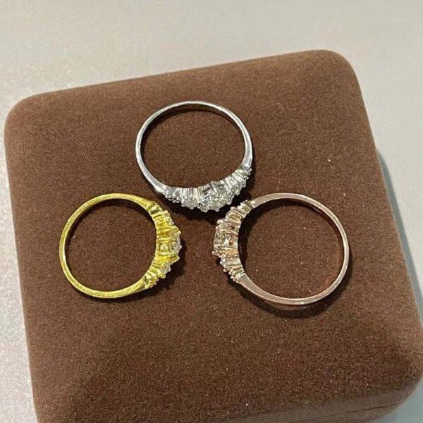 Very Soft Moissanite Ring