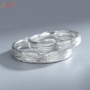 Couple Ring Set| Engraved Couple Ring