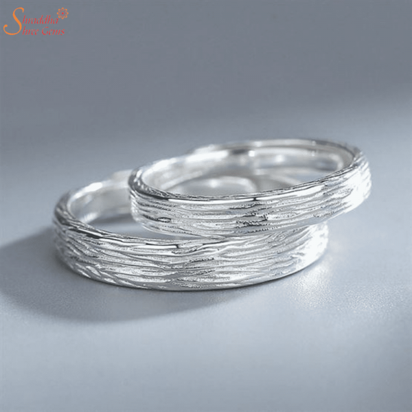 Couple Rings Set| Engraved Couple Ring