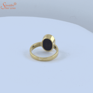 Black Onyx Ring In Panchdhatu | Sulemani Hakik Ring In Panchdhatu