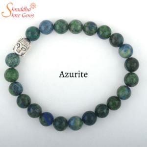Azurite Gemstone Bracelet