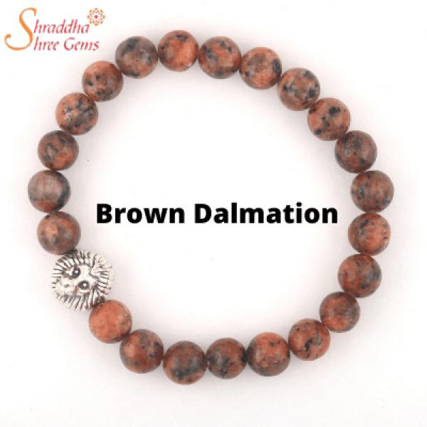 drown dalmation gemstone bracelet