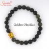 golden bosidian gemstone bracelet