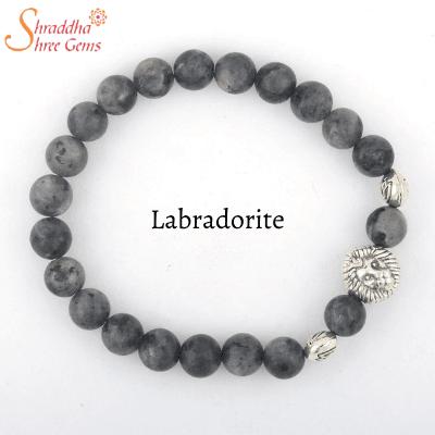 natural labradorite gemstone bracelet