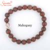 natural mahogany gemstone bracelet