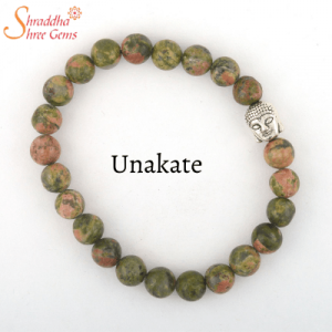 Natural Unakate Gemstone Bracelet
