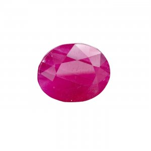 8.68 Carat/ 9.63 Ratti Natural And Certified Ruby Stone