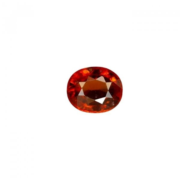 8.18 Ratti / 7.37 Carat Loose Hessonite Garnet Gemstone