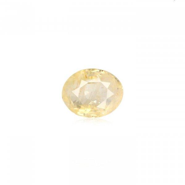 3.50 Ratti / 3.15 Carat Loose Yellow Sapphire Stone
