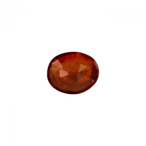 6.43 Ratti / 5.79 Carat Loose Hessonite Garnet Gemstone