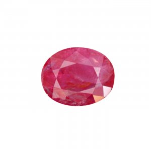 3.71 Carat / 4.12 Ratti Natural And Certified Ruby Stone