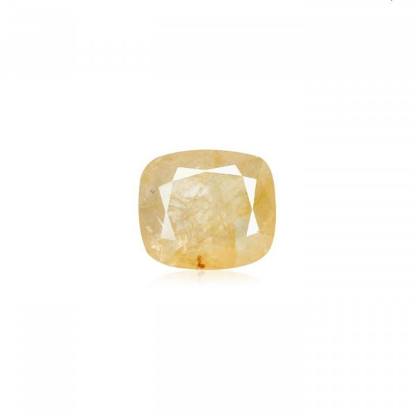 8.45 Ratti / 7.62 Carat Loose Yellow Sapphire Stone