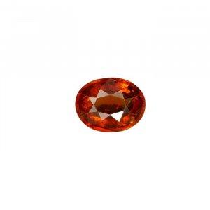 7.33 Ratti / 6.61 Carat Hessonite Garnet Gemstone | Gomed Gemstone