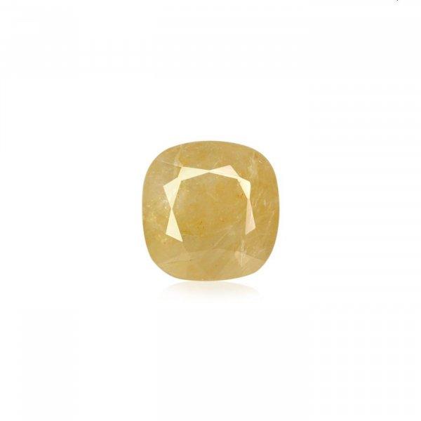 8.35 Ratti / 7.58 Carat Loose Yellow Sapphire Stone