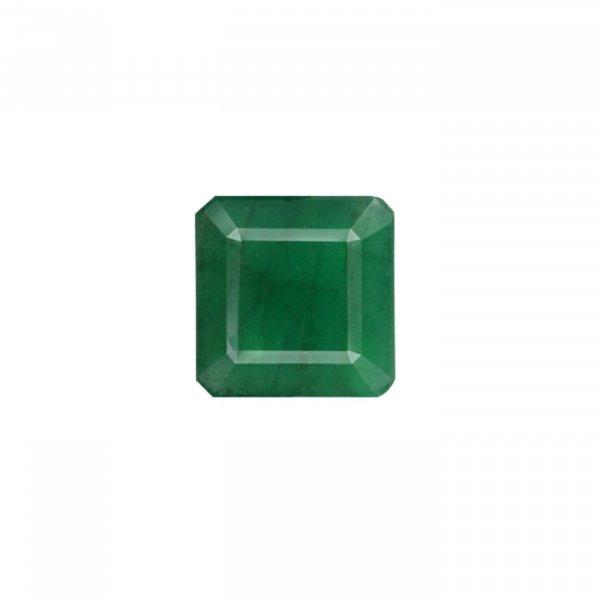 8.55 Ratti / 7.71 Carat Natural Zambian Loose Emerald (Panna) Gemstone