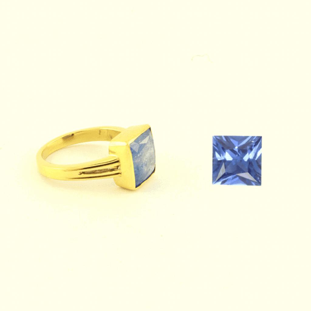 Blue sapphire rings , neelam rings