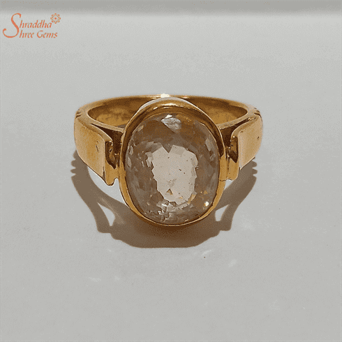 Citrine Ring Sunela Gemstone Ring