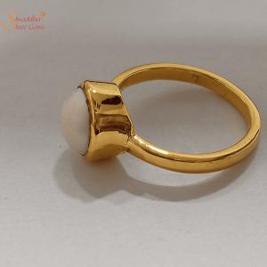 Pearl Ring Or Moti Ring