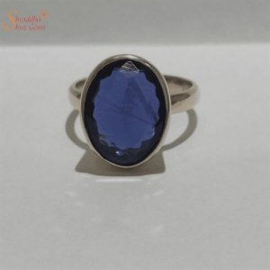 Genuine Blue Sapphire Ring For Astrology