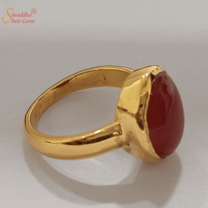 Natural Carnelian Ring