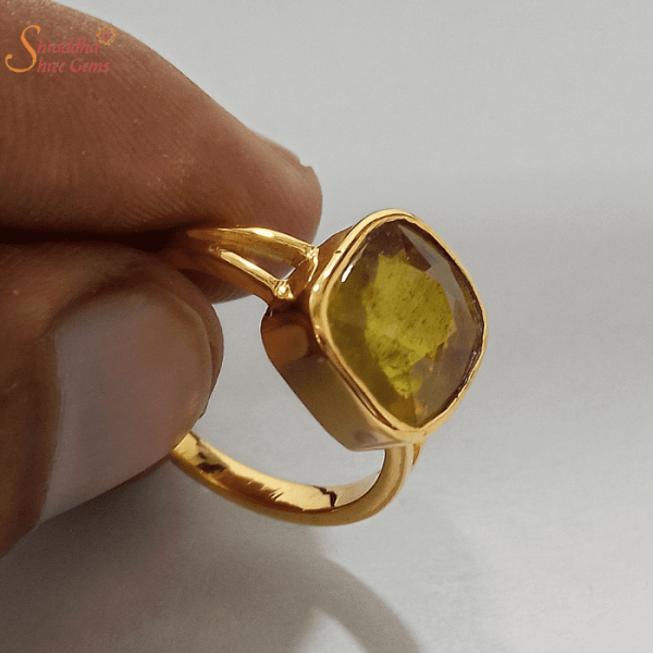 Yellow Sapphire Ring For Astrology