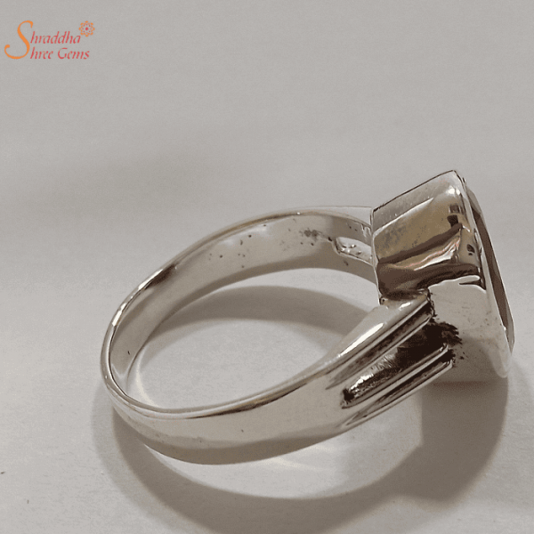 Natural Iolite Gemstone Ring In Sterling Silver