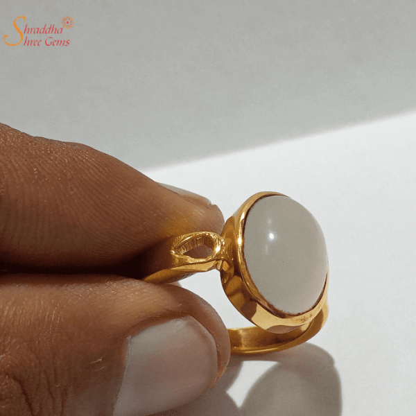 Certified Moonstone Ring