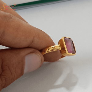 Natural Ruby Ring For Men And Women